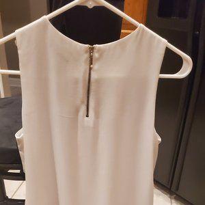 White House Black Market Sleeveless Tunic/Top